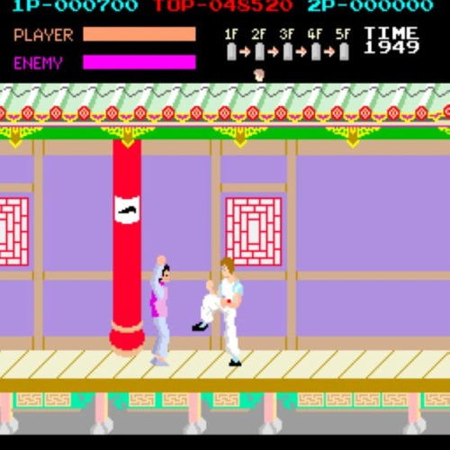 kung fu master classic arcade coin-op