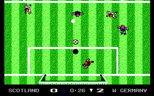 microprose soccer online c64 play classic screenshot