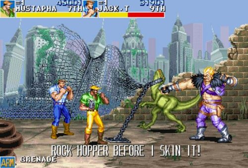 cadillacs and dinosaurs online flash coin-op classic