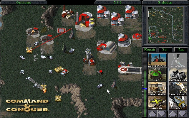 command and conquer arcade
