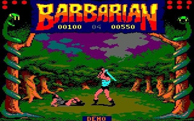 barbarian amstrad