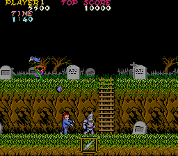 ghosts'n goblins flash screenshot online