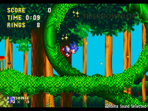 sonic the hedgehoc pic screenshot gioco online flash